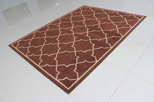 W1512 Brown Area Rug