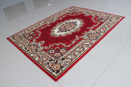 W1514 Red Area Rug