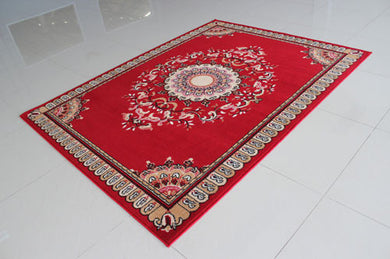 W1515 Red Area Rug