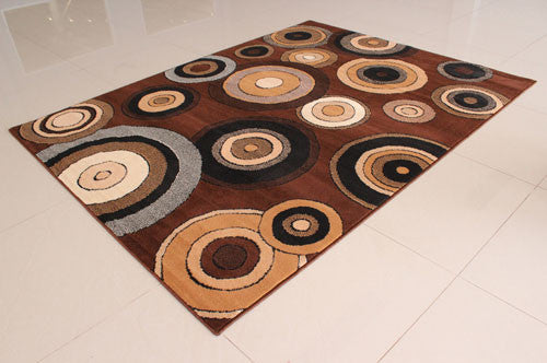 W1519 Brown Area Rug