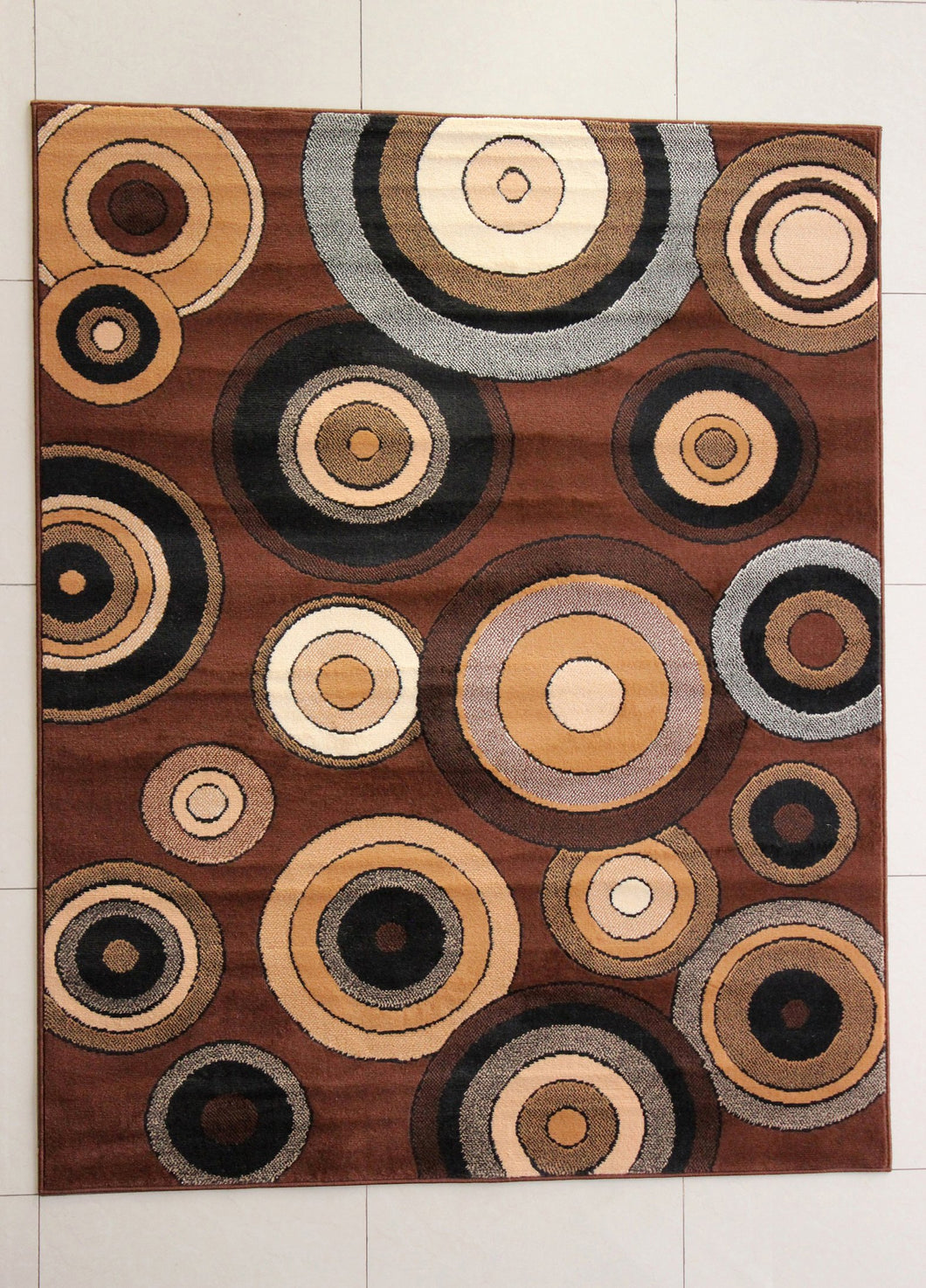 Malpartida Brown Area Rug