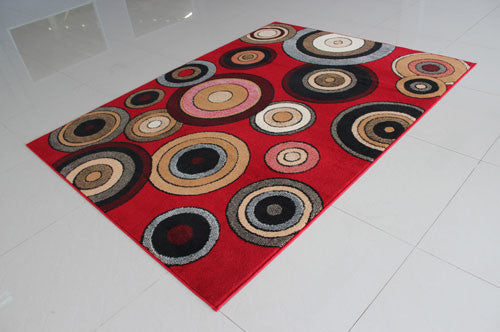 W1519 Red Area Rug