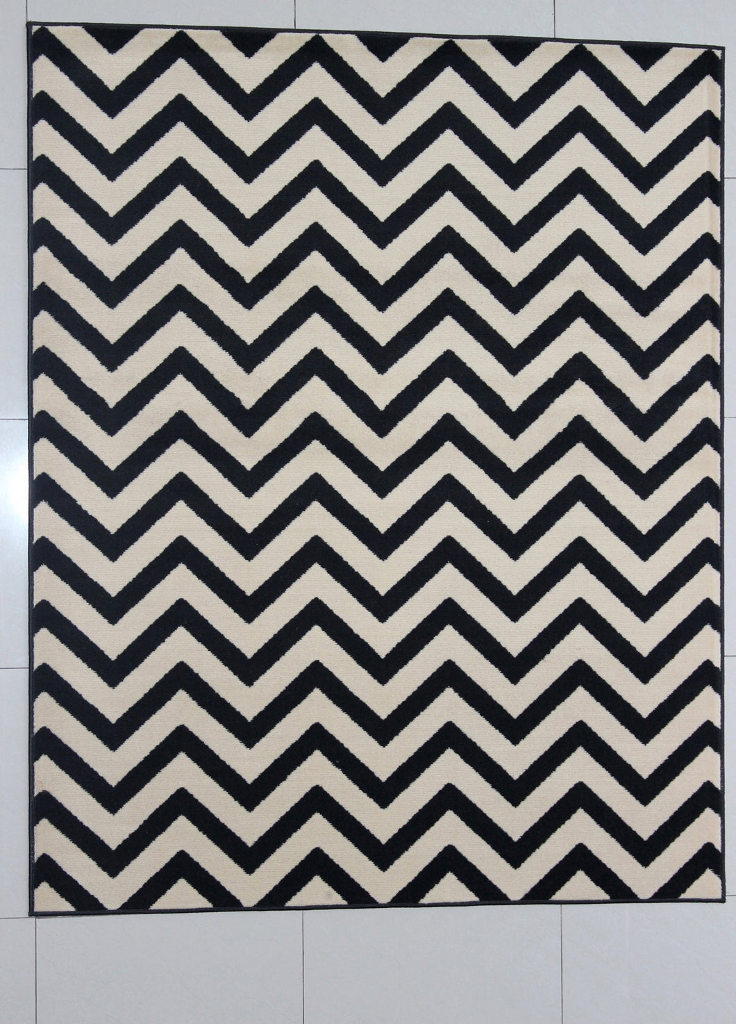 Hawker Black Area Rug