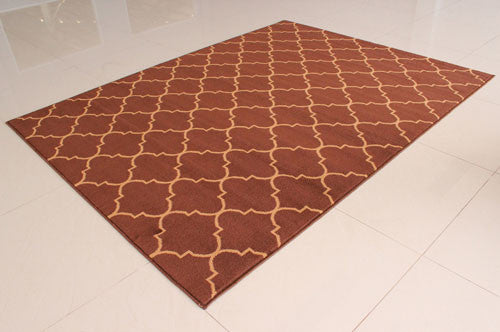 W1521 Brown Area Rug