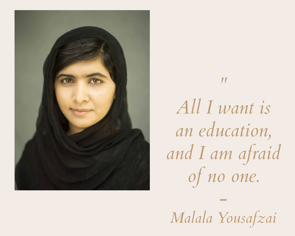 I Am Malala Quotes 3 Remarkable Empowered Women To Tell Our Kids About  Wabisabi
