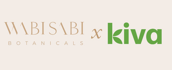 Wabi-Sabi Botanicals Luxury Natural Skin Care Kiva.Org Lender