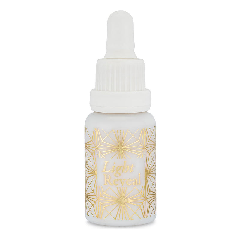 Wabi-Sabi Botanicals - Light Reveal Illuminative Eye & Face Serum - Vitamin C Serum for Sensitive Skin