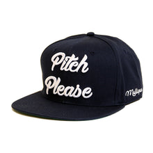 PITCH PLEASE - SNAPBACK CAP - MARINE