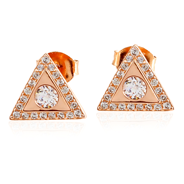 Ella Rose  Sterling Silver Earrings