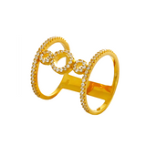 Ella Yellow Sterling Silver Ring
