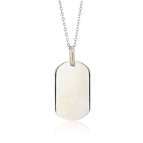 Ella White Sterling Silver Necklace