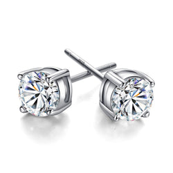 Ella Sterling Silver Stud Earrings