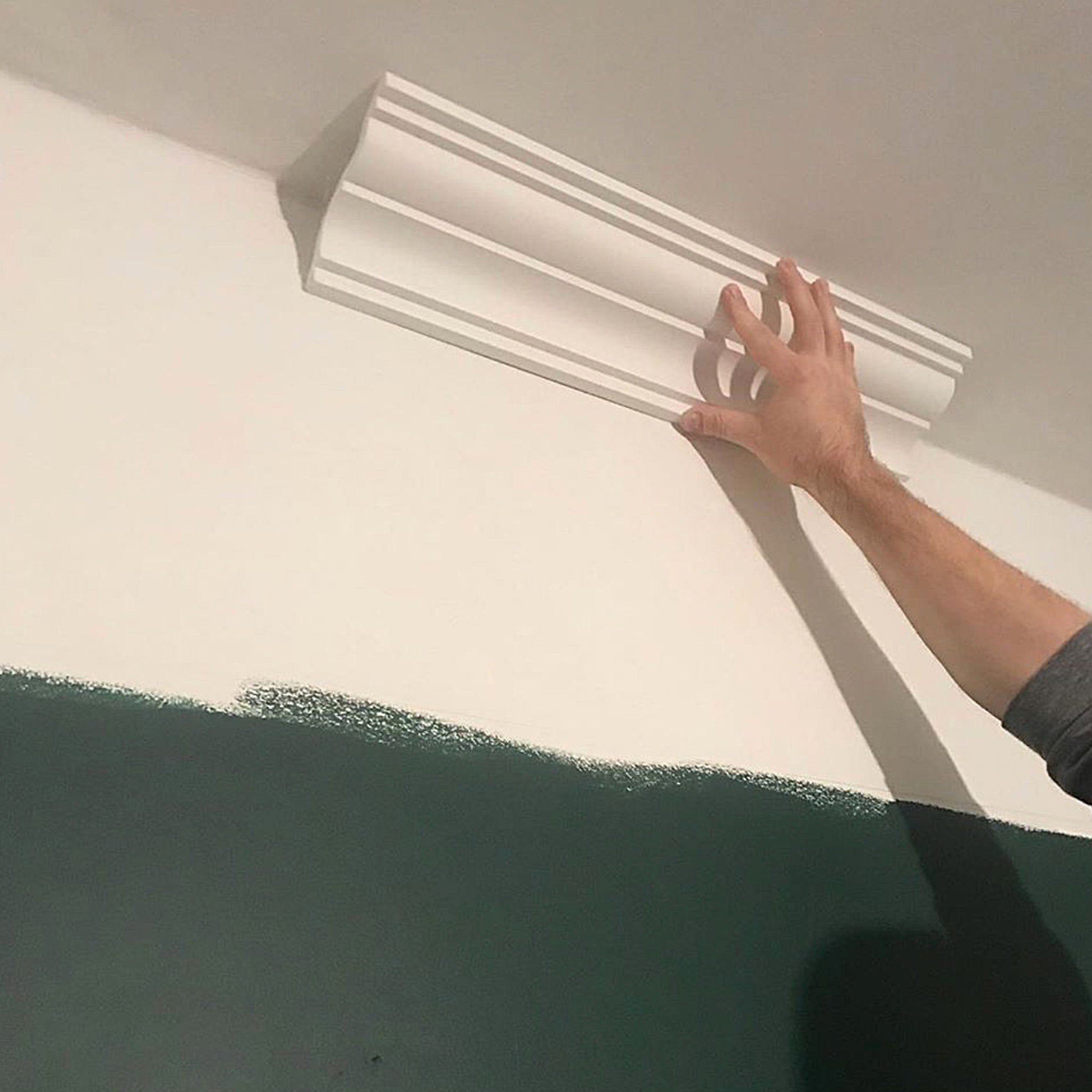 How much plaster coving can you fit in a day?