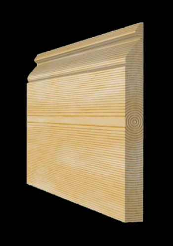 Victorian Pine Skirting Board Nine Inch, 215mm x 21mm SB010 - PlasterCeilingRoses.com