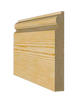 6 1/2 inch Torus Timber Skirting Board 168mm x 21mm SB005 - PlasterCeilingRoses.com