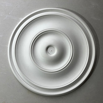 Plain Spun Plaster Ceiling Rose 420MM Diameter MPR071 - PlasterCeilingRoses.com