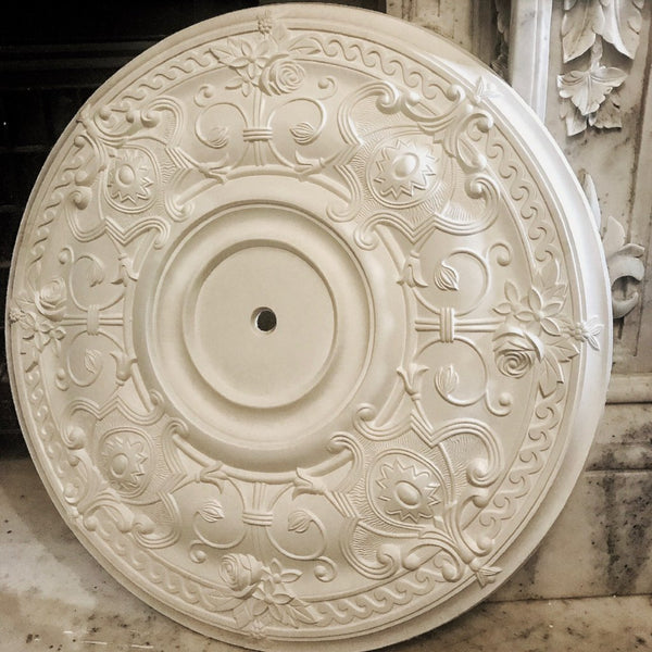 Ornate Victorian Plaster Ceiling Rose 710mm dia. LPR011 - PlasterCeilingRoses.com