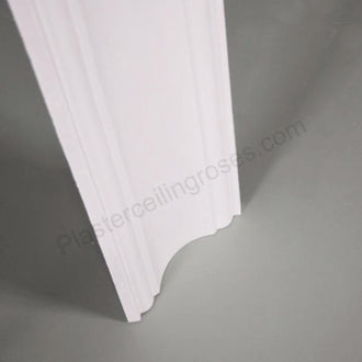 Plaster Coving Plain Run 150mm Drop LPC050 - PlasterCeilingRoses.com
