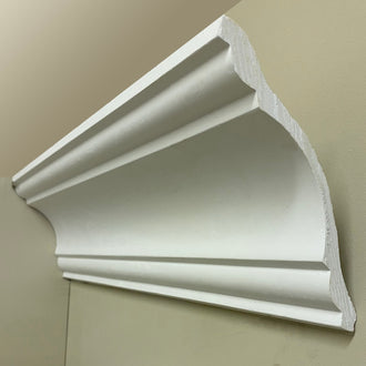 Plaster Coving 120mm Drop LPC051 - PlasterCeilingRoses.com
