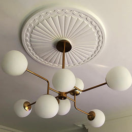 Adams Sunburst Plaster Ceiling Rose 750mm dia. LPR020 - PlasterCeilingRoses.com