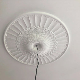 Georgian Plaster Ceiling Rose 930mm dia. LPR049 - PlasterCeilingRoses.com