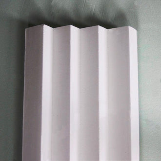 Plaster Coving Art Deco Four Step 100mm MPC028 - PlasterCeilingRoses.com