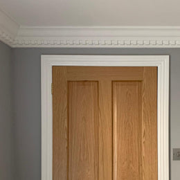Plaster Coving Dentil 110mm Drop MPC061 - PlasterCeilingRoses.com