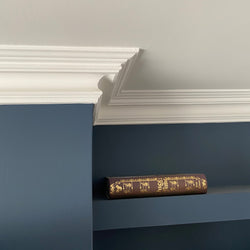 Plaster Coving Swan Neck 100mm MPC065 - PlasterCeilingRoses.com