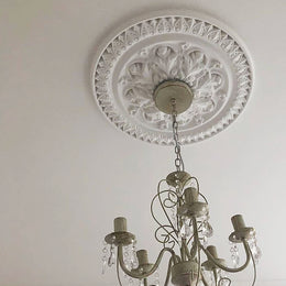 Ornate Victorian 520mm Plaster Ceiling Rose MPR062 - PlasterCeilingRoses.com