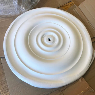 Medium Sized Plaster Ceiling Rose 470mm dia. MPR065 - PlasterCeilingRoses.com