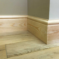 Torus Timber Skirting Board 168mm x 21mm SB005 - PlasterCeilingRoses.com