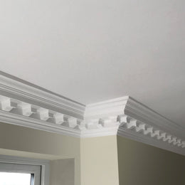 Plaster Coving Large Victorian Modillion 140mm Drop XLPC005 - PlasterCeilingRoses.com