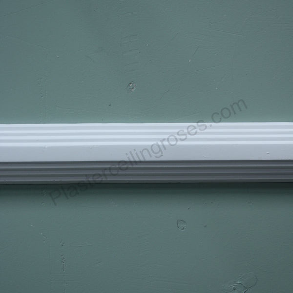 Art Deco Dado Rail MR013 - PlasterCeilingRoses.com