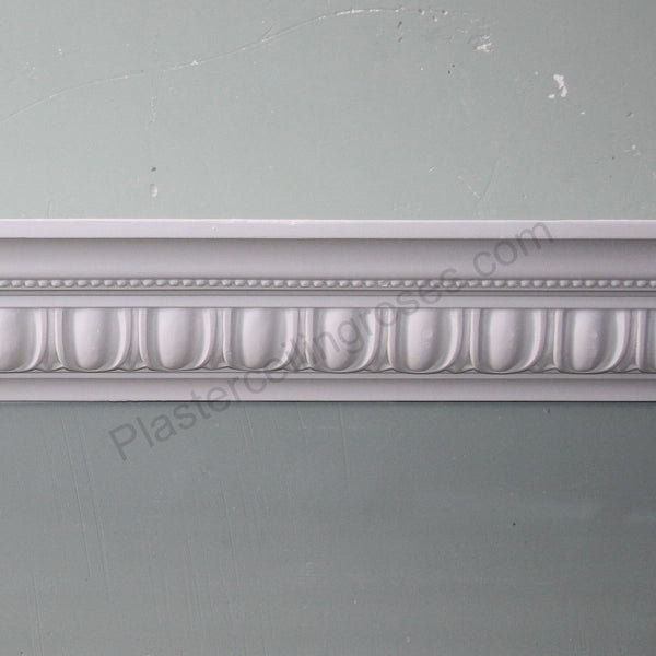 Plaster Coving Egg & Dart 100mm Drop MPC064