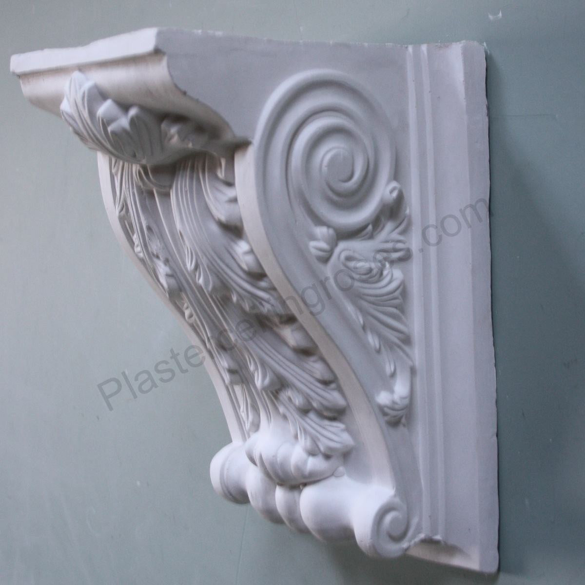Large Decorative Plaster Corbel PC010 - PlasterCeilingRoses.com
