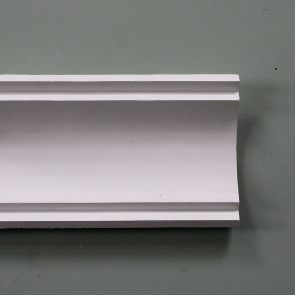 Plaster Coving Large Plain 120mm Drop LPC012