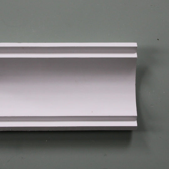 Plaster Coving Large Plain 150mm Drop LPC013 - PlasterCeilingRoses.com