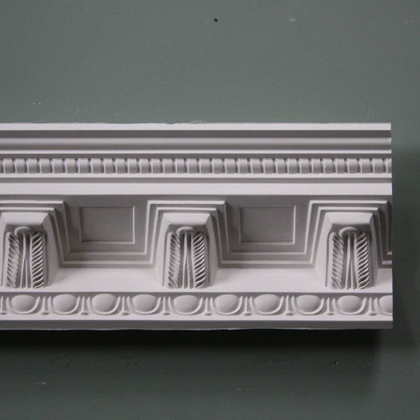 Plaster Coving Large Victorian Grand Entrance Hall 120mm Drop LPC024 - PlasterCeilingRoses.com