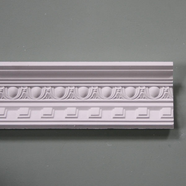 Plaster Coving Dentil Egg & Dart 90mm Drop MPC019 3