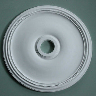 Plain Plaster Ceiling Rose with Beading 610mm dia. MPR060 - PlasterCeilingRoses.com