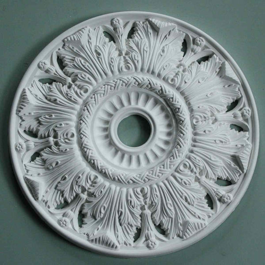 Victorian Decorated Plaster Ceiling Rose MPR063 - PlasterCeilingRoses.com