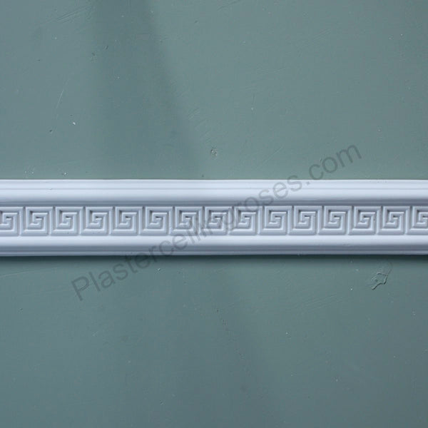 Plaster Dado Rail Greek Key MR003 - PlasterCeilingRoses.com