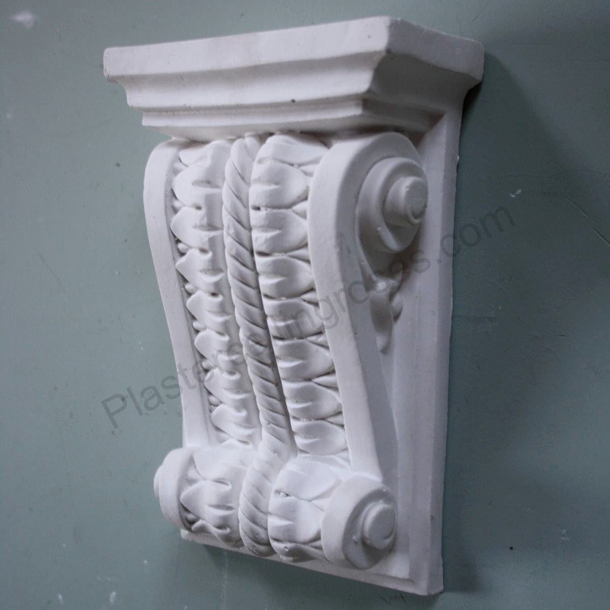 Small Decorative Plaster Corbel PC007 - PlasterCeilingRoses.com