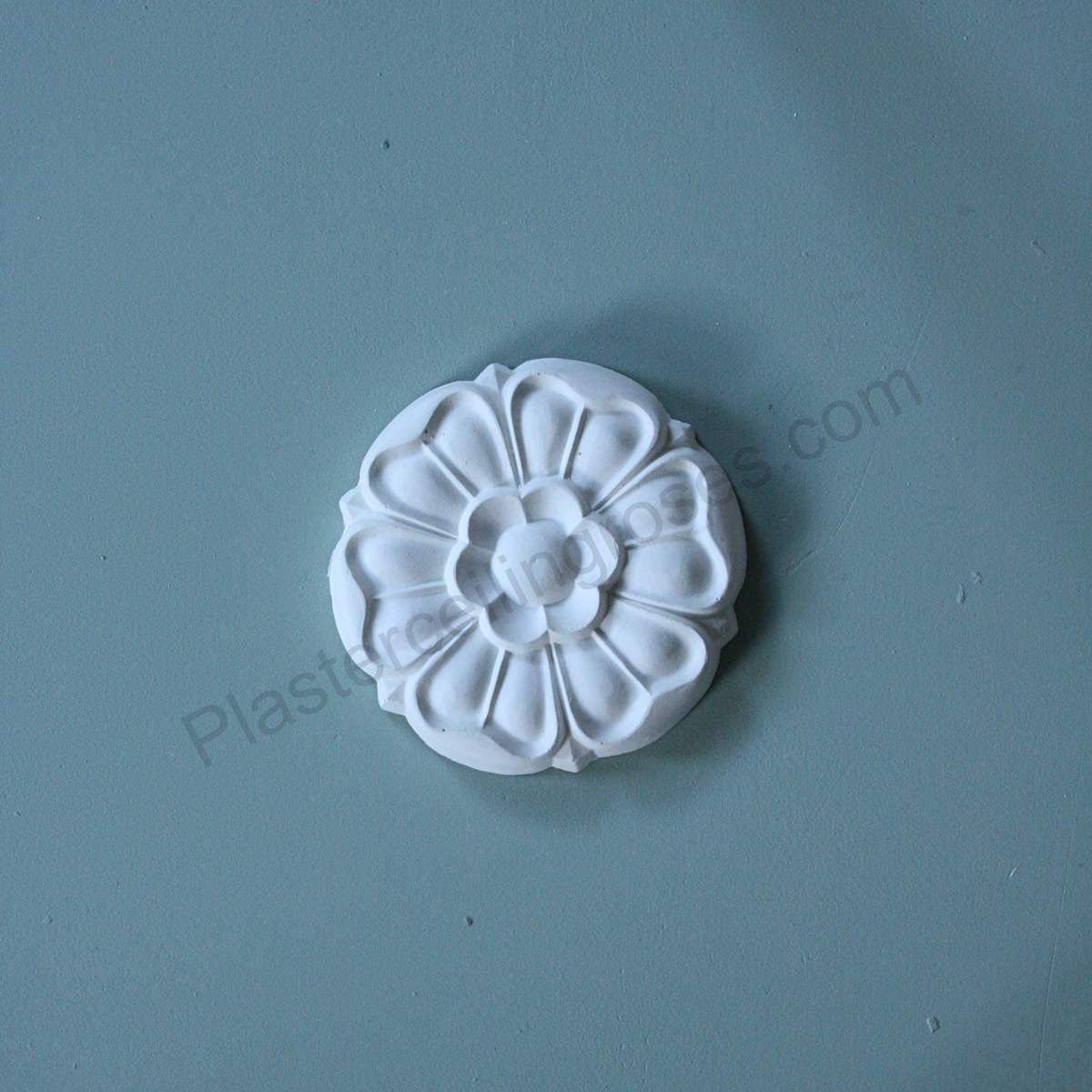 Five small roses pack WP010 - PlasterCeilingRoses.com
