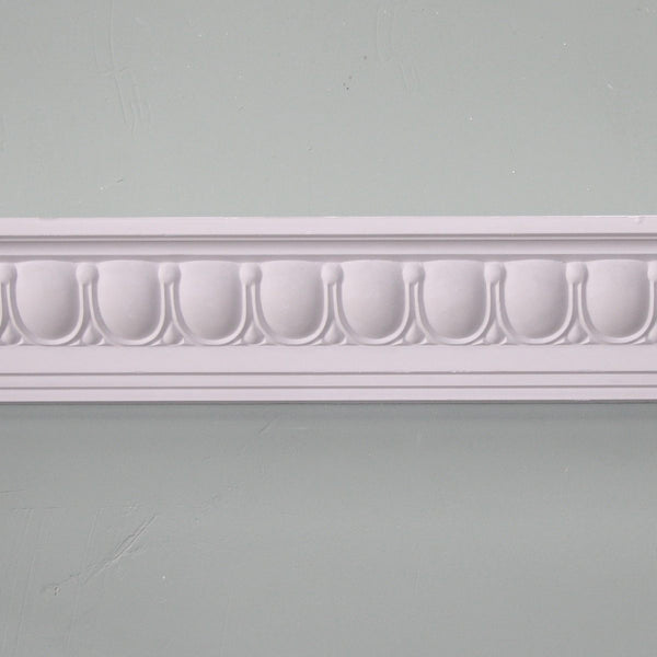 Plaster Coving Georgian Egg and Dart 90mm SPC020 - PlasterCeilingRoses.com