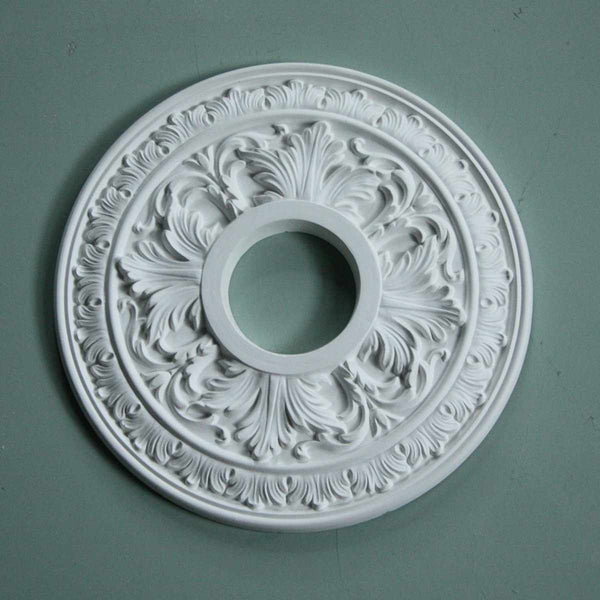 Small Acanthus Rings Plaster Ceiling Rose 360mm dia. SPR006 - PlasterCeilingRoses.com