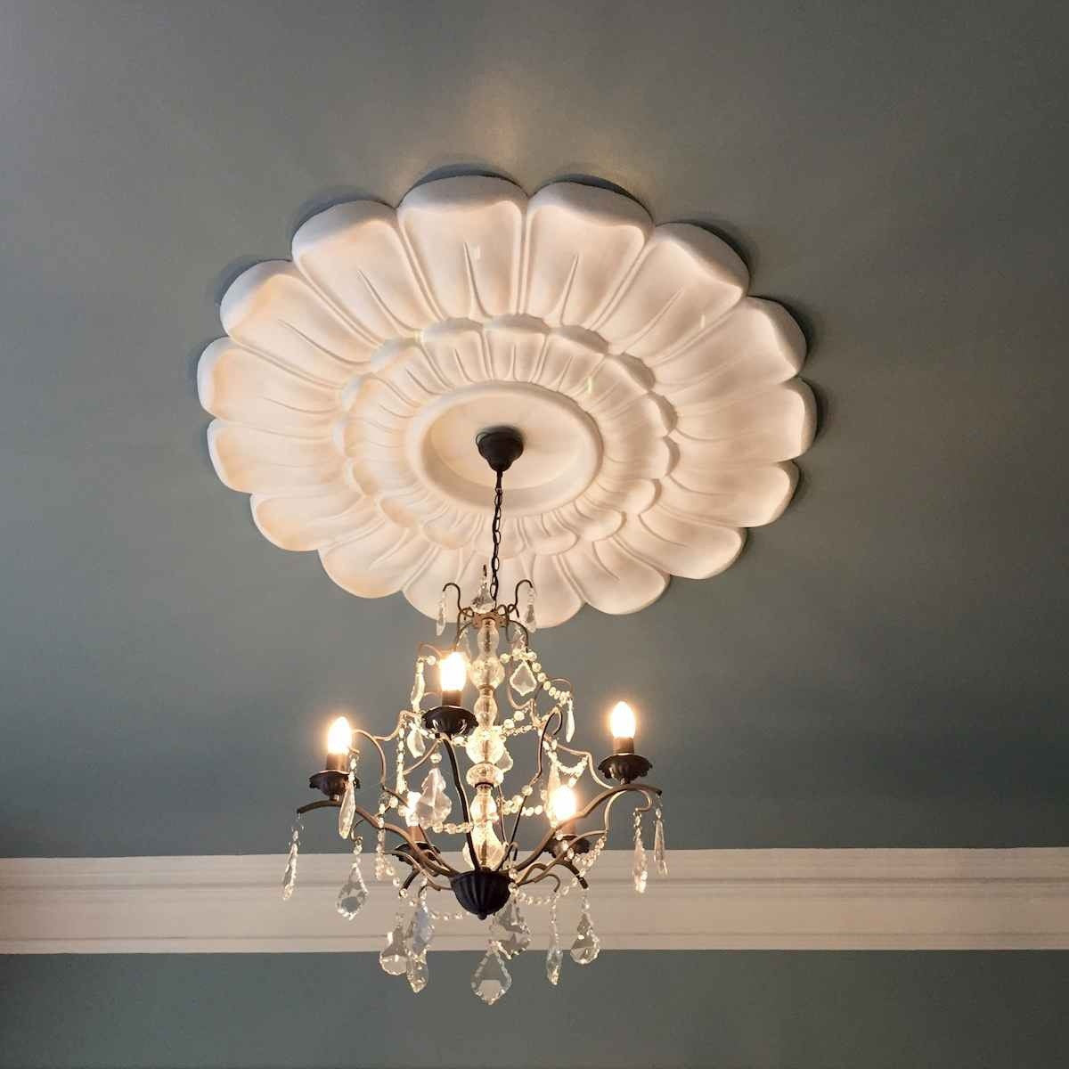Extra Large Ceiling Rose 1220mm LPR009 - PlasterCeilingRoses.com