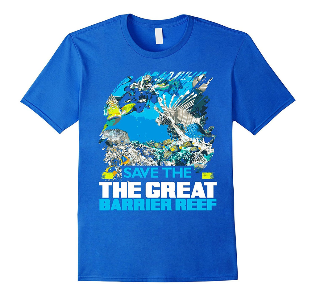 Save the great barrier reef australia conservation t shirt The great t shirt
