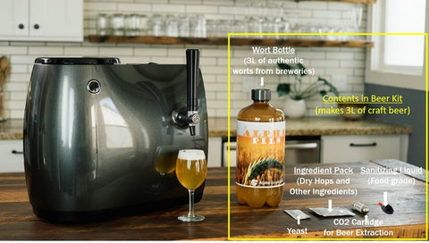 HOPii - Smart home brewery