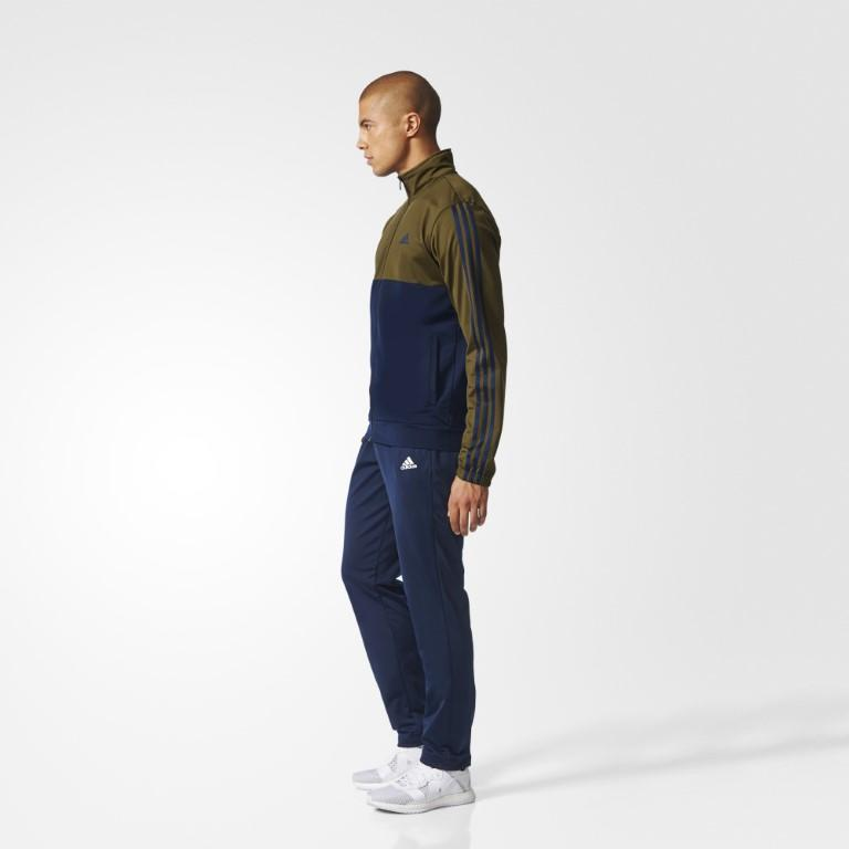 Adidas Back 2 Basics 3-Stripes Men's Tracksuit-Mikka Online